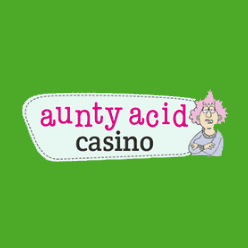 Aunty Acid Casino logo