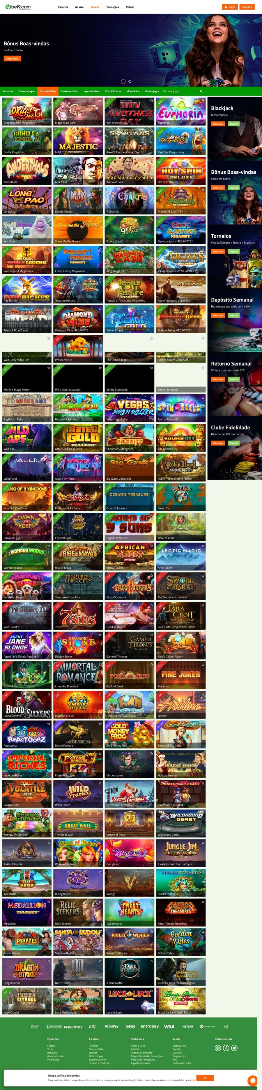 Bet9 Casino  screenshot