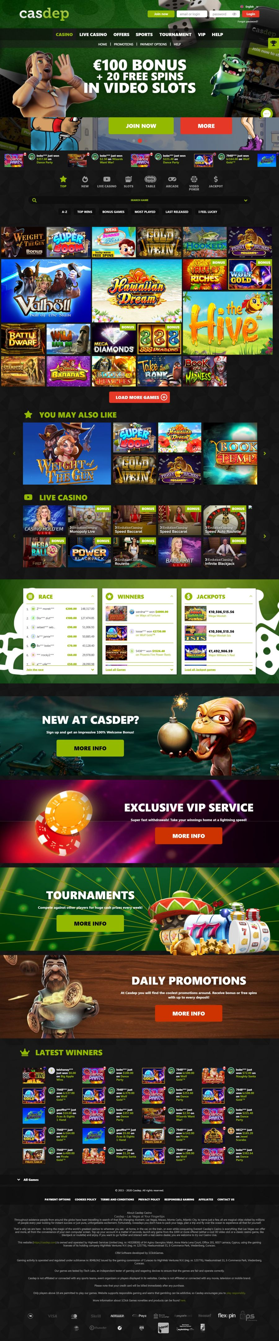 Casdep Casino  screenshot