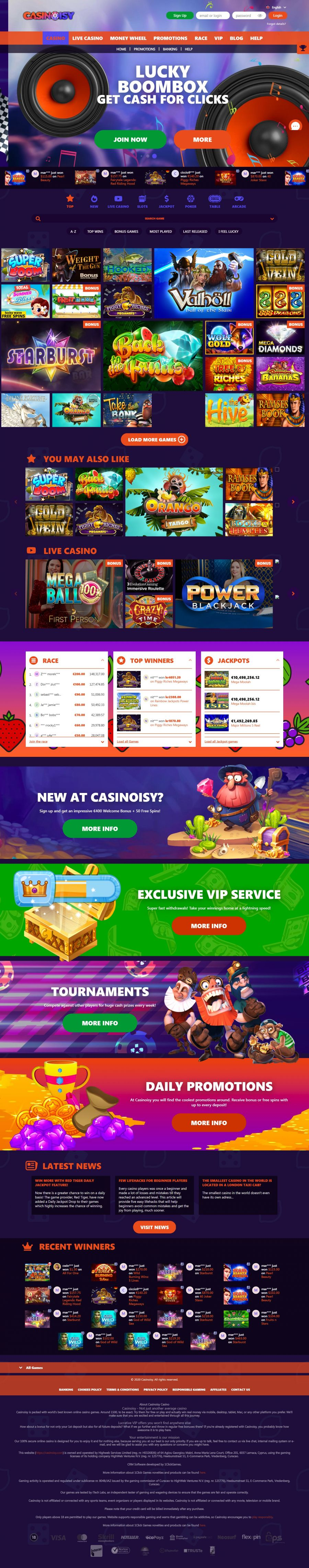 Casinoisy  screenshot