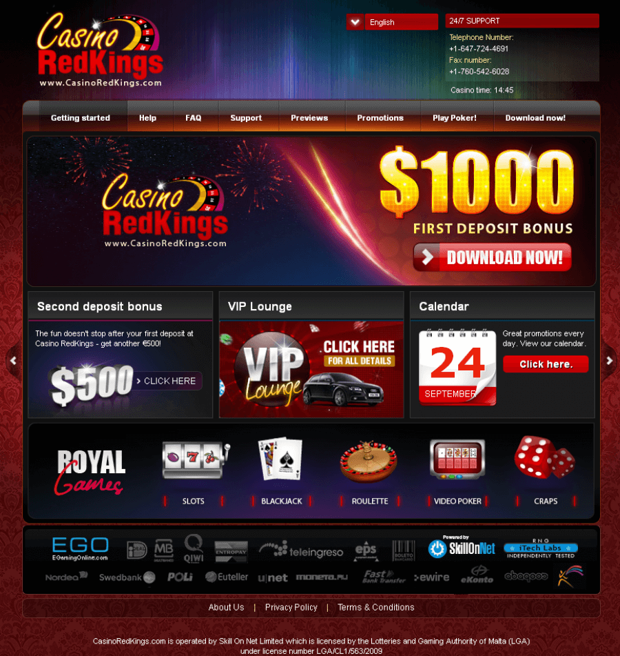 Casino RedKings  screenshot