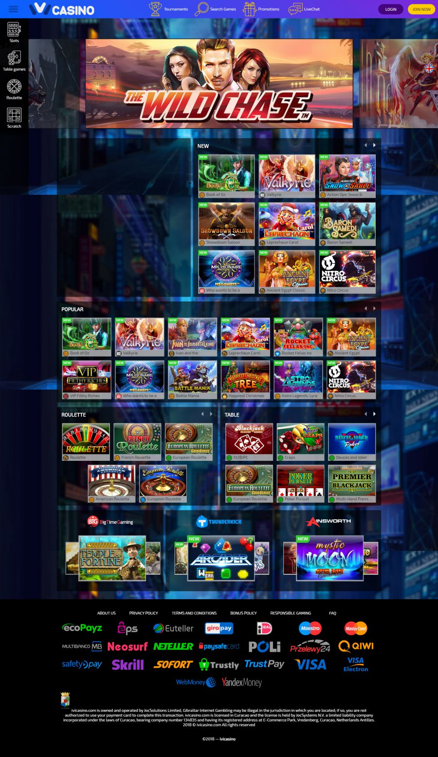 Ivi Casino  screenshot