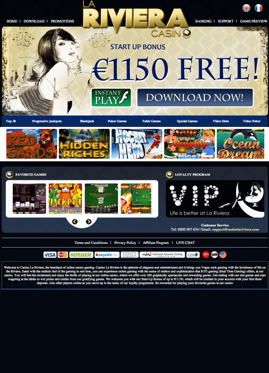 La Riviera Casino  screenshot