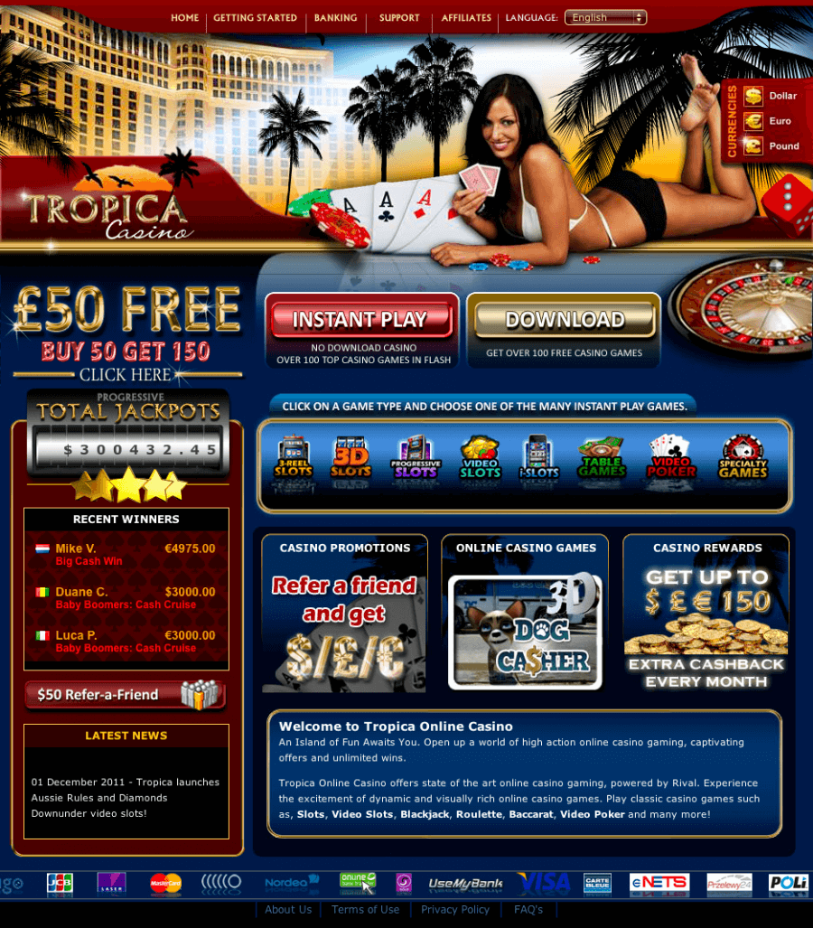 Tropica Casino  screenshot