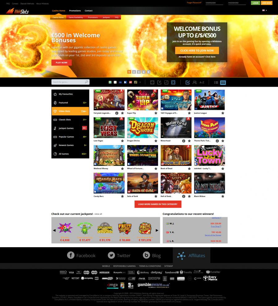 WildSlots Casino  screenshot